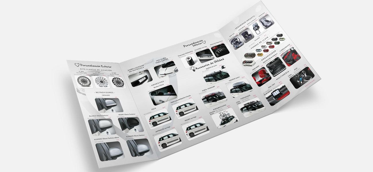 interior triptico accesorios Fiat500L